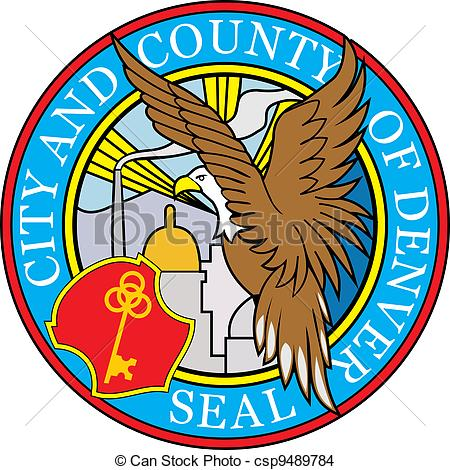 Clipart Vector of Sacramento county seal.
