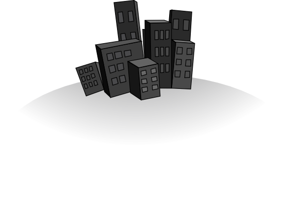City clipart png.