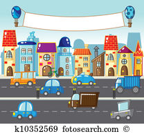 City street Clip Art and Illustration. 30,578 city street clipart.