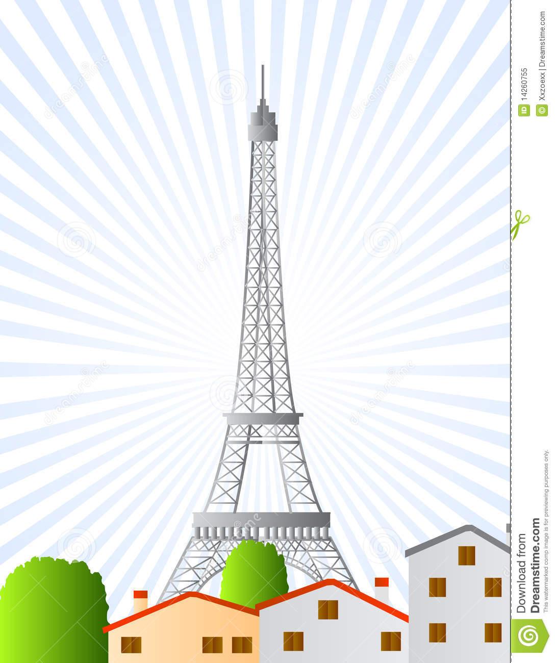 Clip Art City Tower Clipart.