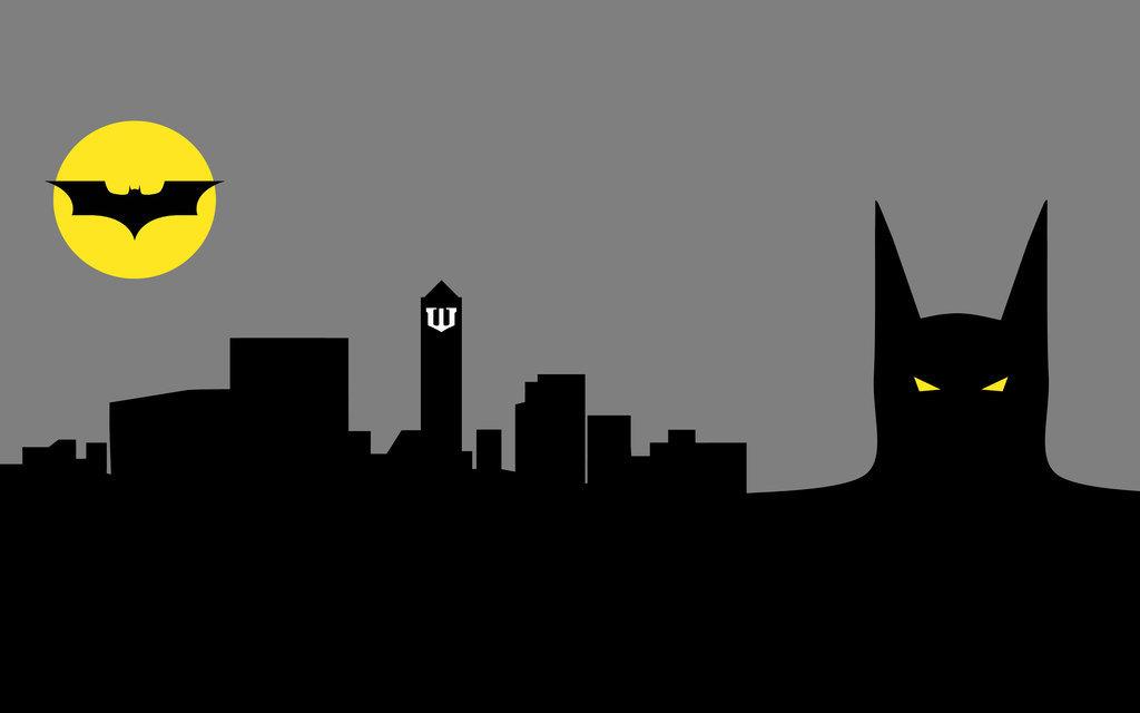 Batman city clipart.
