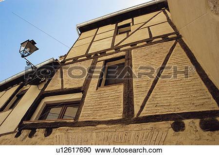 Stock Photography of Spain, Castilla leon, Segovia, City, Wall.