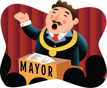 Clipart mayor.
