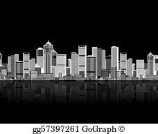 Cityscape Clip Art.