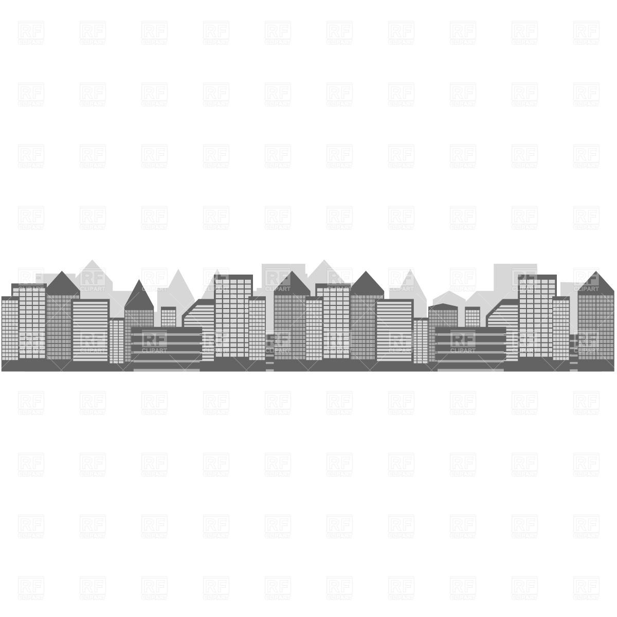 Cityscape Vector Image #547.