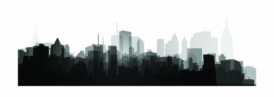 Skyscraper Silhouette Png.