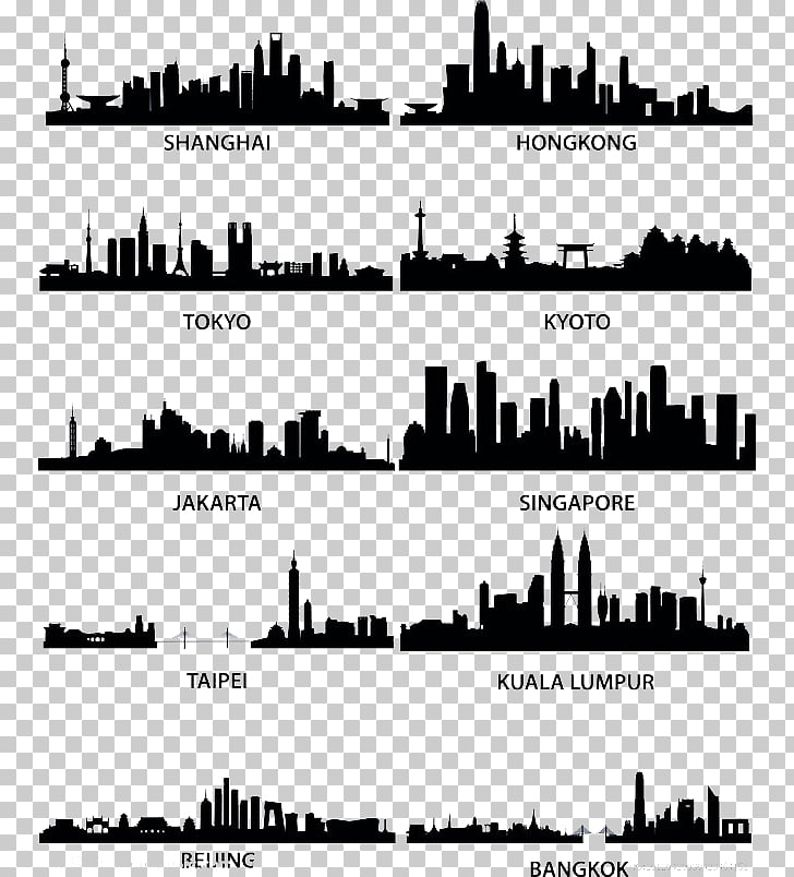 Cities: Skylines Silhouette , City Silhouette PNG clipart.