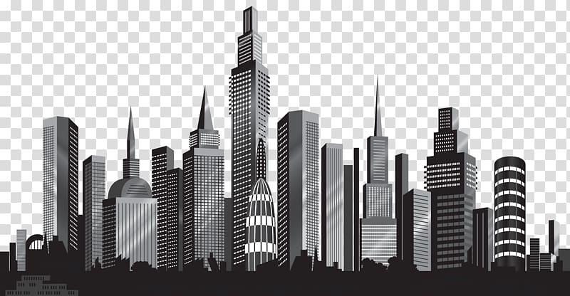 Cityscape Skyline , Cityscape Silhouette , cityscape illustration.