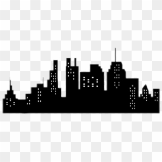 City Silhouette PNG Transparent For Free Download.