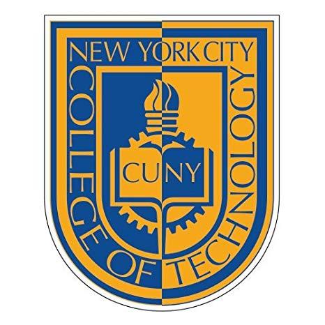 Amazon.com : City Tech Large Decal \'CUNY Shield\' : Sports.