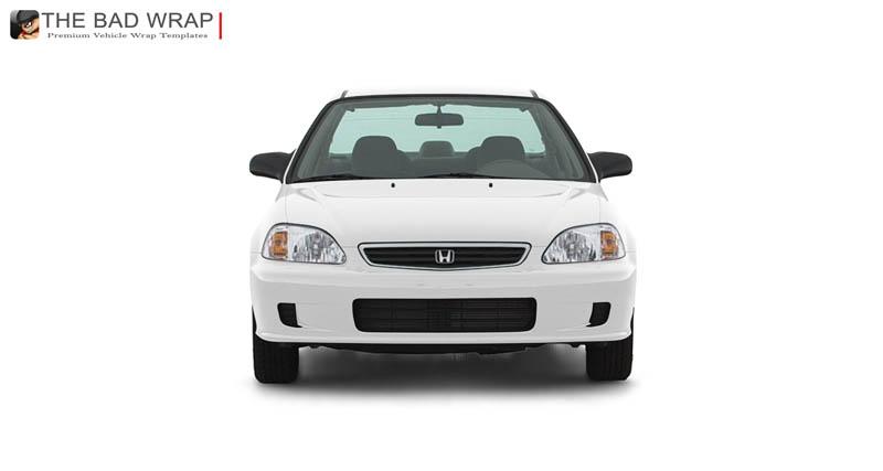 Honda civic 2000 clipart.