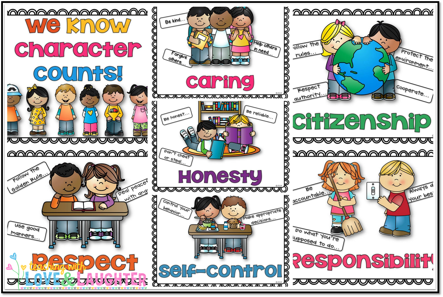Responsibility Clipart For Kids.