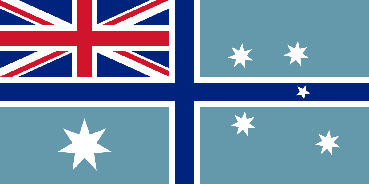 Australian Civil Aviation Ensign.