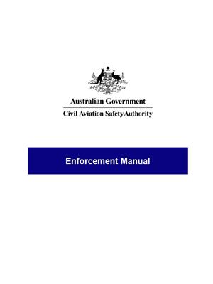 Enforcement manual.