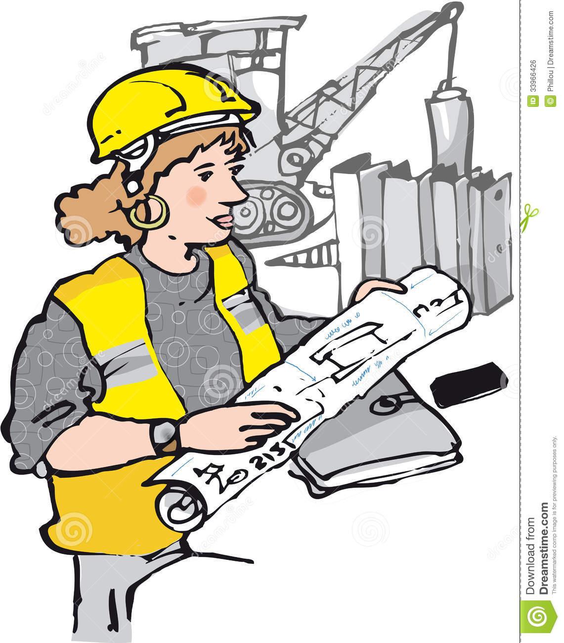 Civil Engineer Clipart.