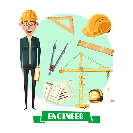 1,744 Engineer Civil Stock Vector Illustration And Royalty Free.