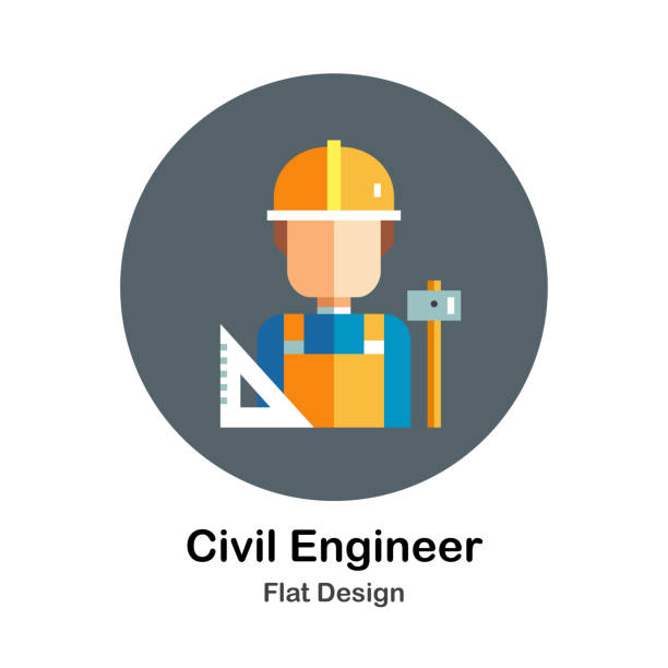 Best Civil Engineer Illustrations, Royalty.