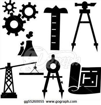 Engineering Icon Set.