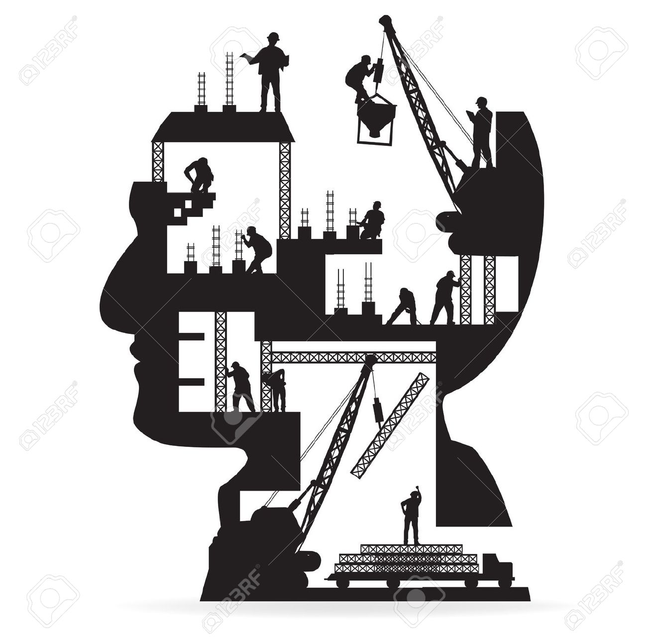 Civil Engineering Silhouette Clipart, Free Download Clipart and.