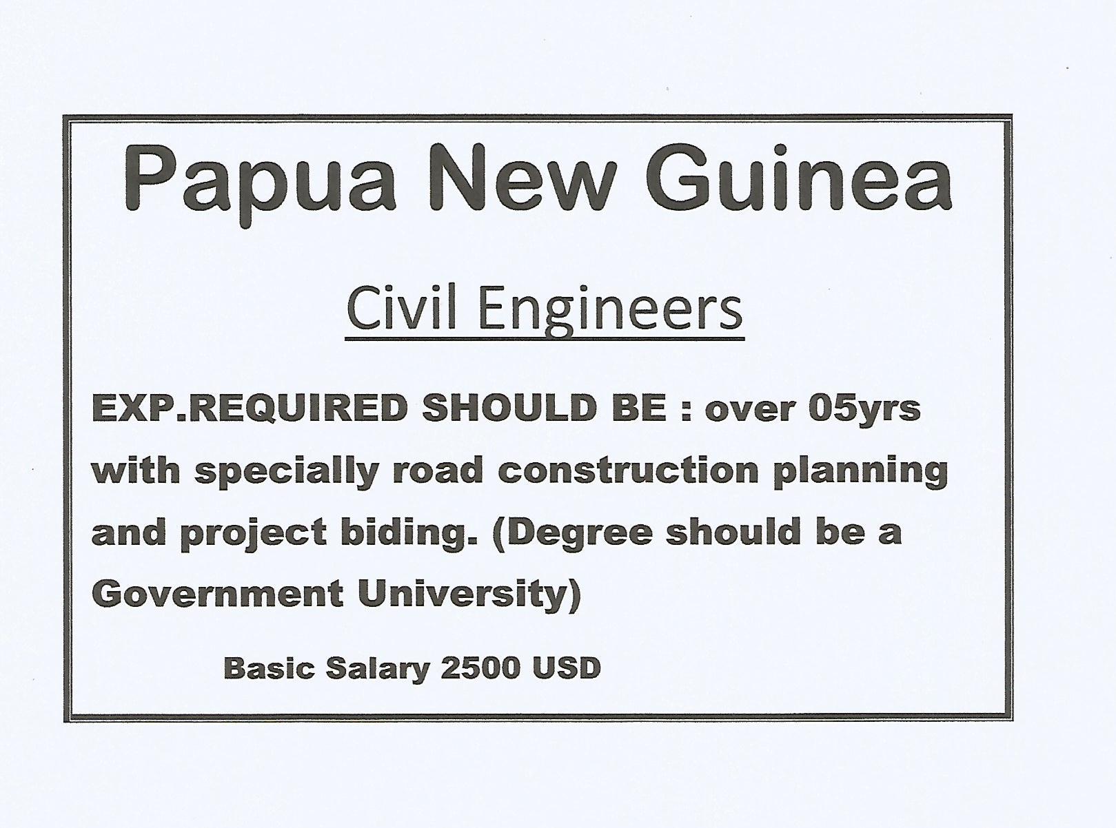 Civil Engineers.