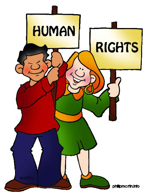 Civil Rights Day Clip Art.