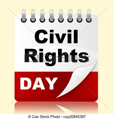 Stock Illustration of Civil Rights Day Means Slavery Plan And.
