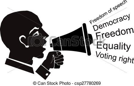 Civil rights clip art.