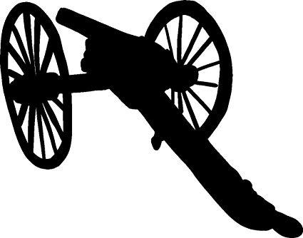 Amazon.com: hBARSCI Civil War Cannon Vinyl Decal.