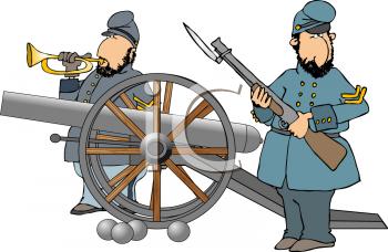 978 Civil War free clipart.