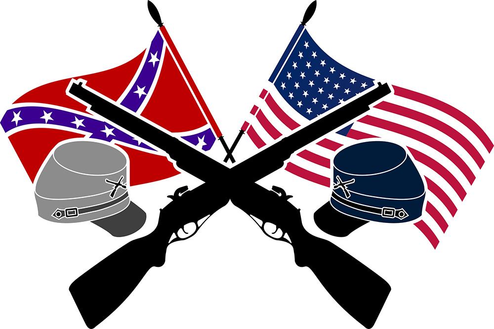 Civil war flag clipart 5 » Clipart Station.