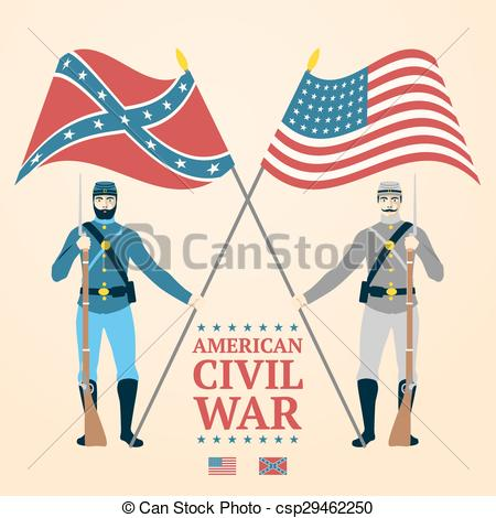 American Civil War illustration.