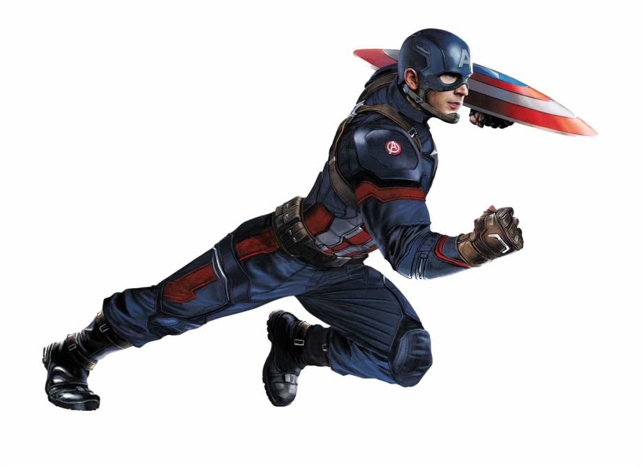 Captain America Png Background.