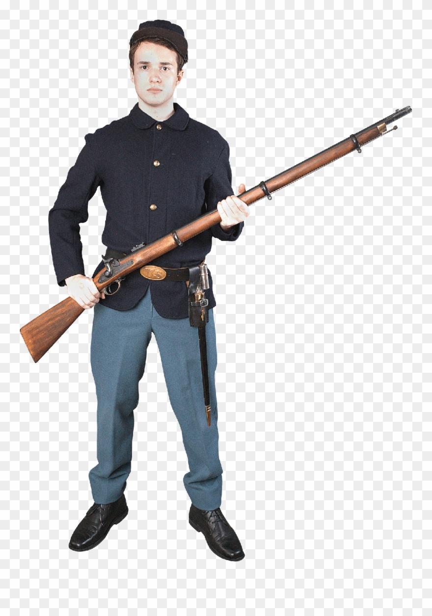 Civil War Soldier Png Clipart (#1875679).