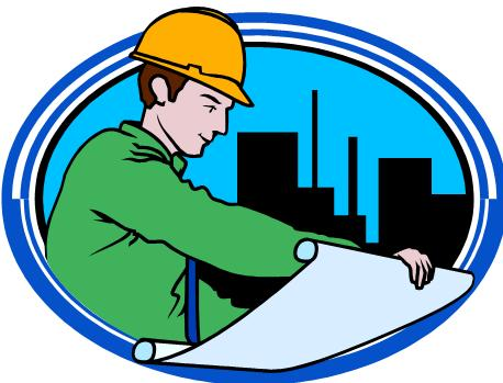 Civil engineering building clipart.