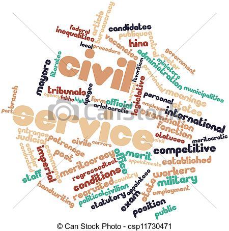 Stock Illustrations of Civil service.
