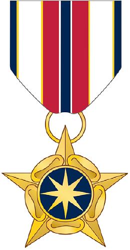 National Intelligence Medal for Valor.
