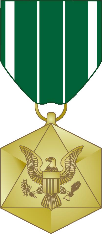 Civilian Service Commendation Medal.