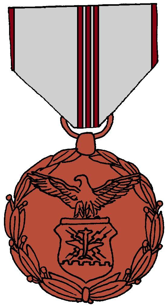Air Force Outstanding Civilian Career Service Award Medal.