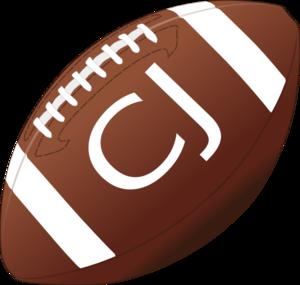 Cj Football Clip Art at Clker.com.