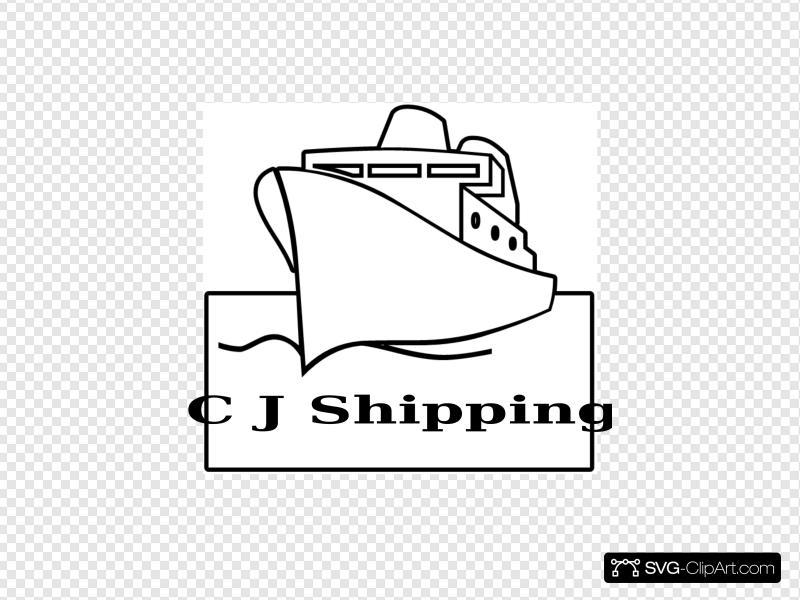 Cj Shipping Clip art, Icon and SVG.