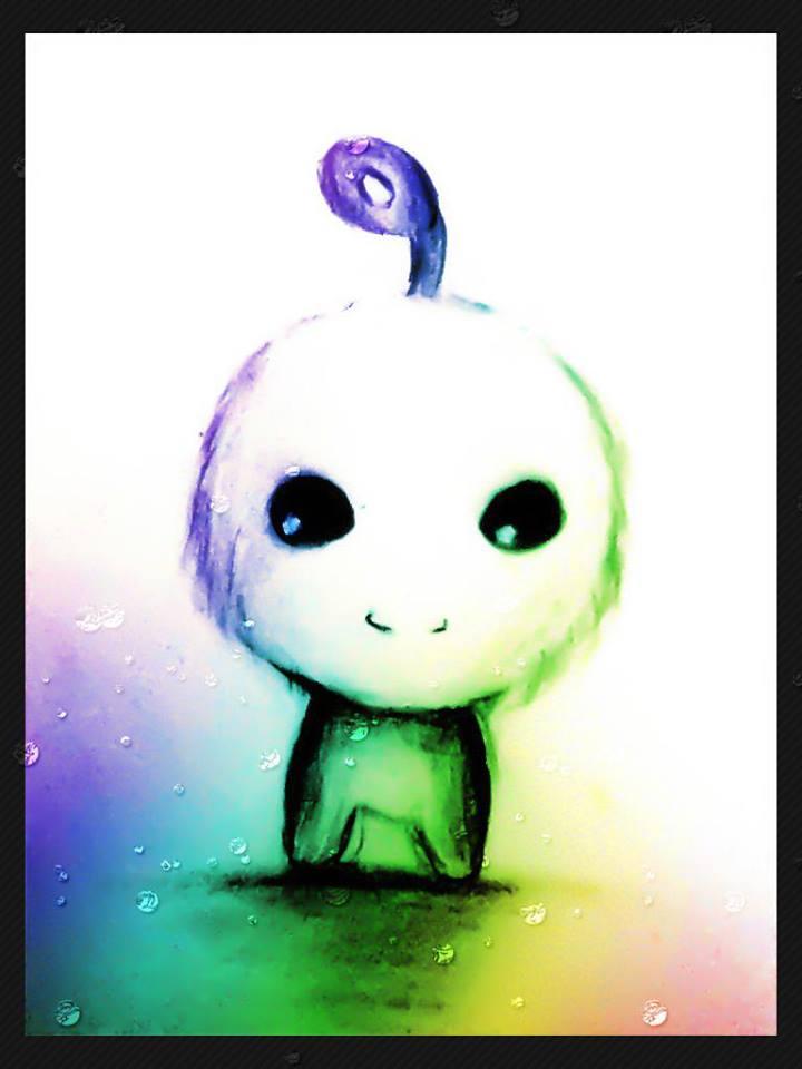 Cute Alien.