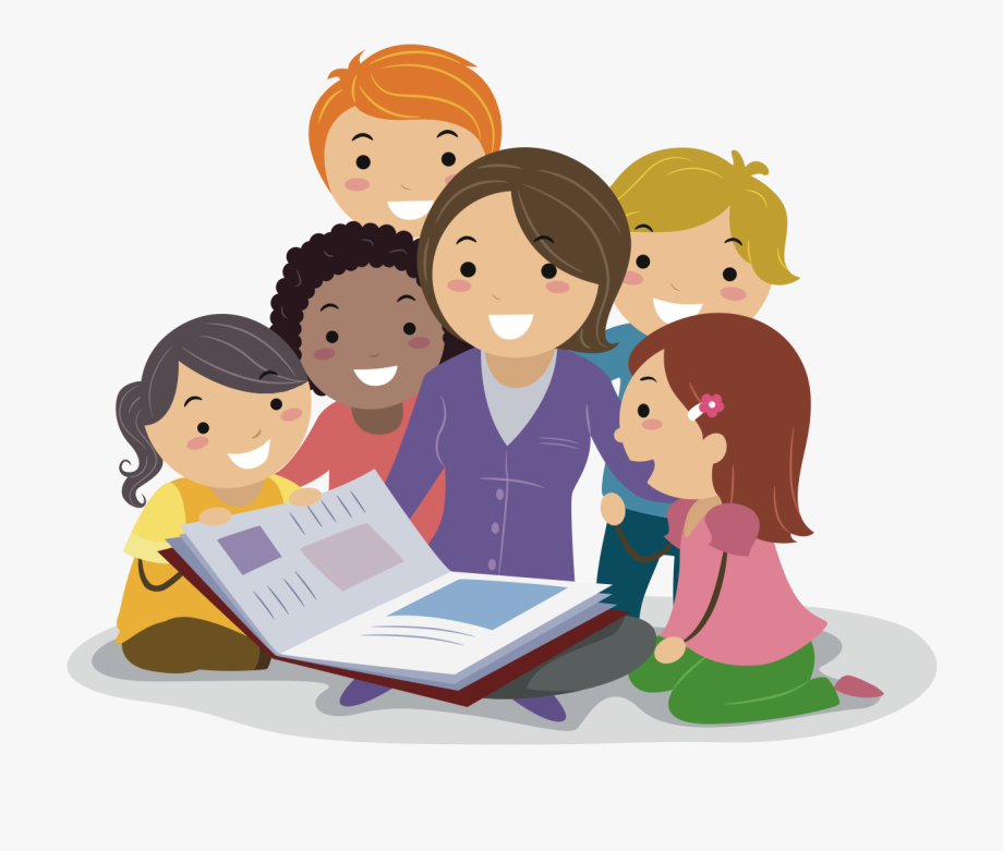Teacher Reading Clipart , Png Download.