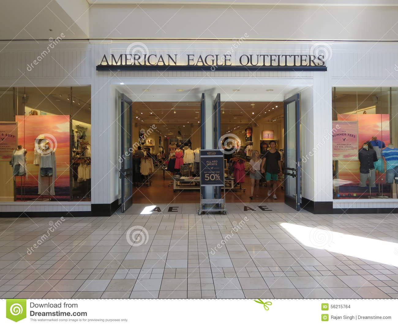 AMERICAN EAGLE OUTFITTERS Editorial Stock Image.