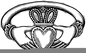 Clipart Claddagh Rings.