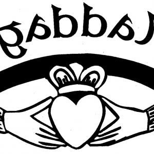 Free Claddagh Ring Vector Gold And Silver.