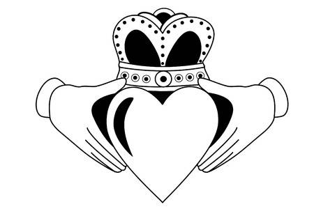 79 Claddagh Stock Vector Illustration And Royalty Free Claddagh Clipart.