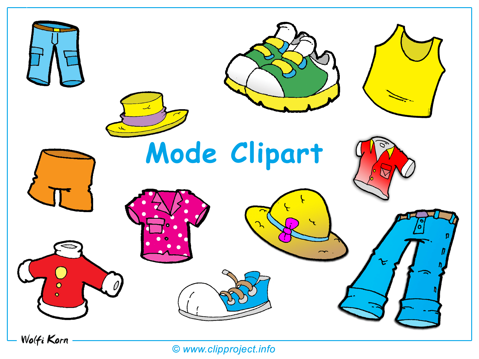 clipart clothes free - photo #20