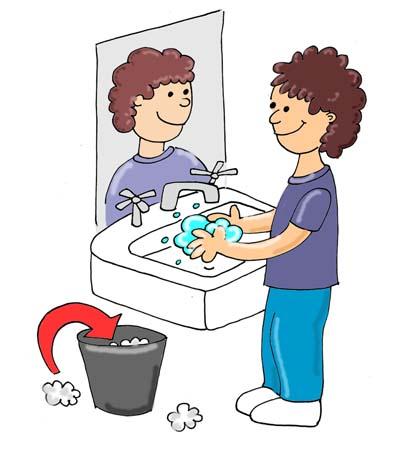 Clear Bathroom Vanity Clipart.