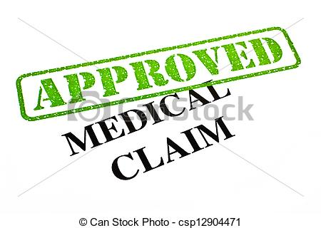Medical Claim Clip Art.