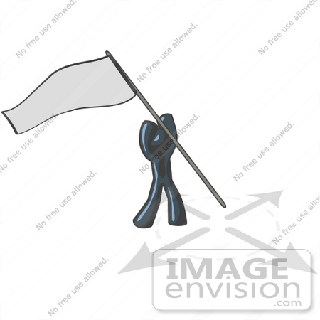 Claiming Land Flag Clipart.